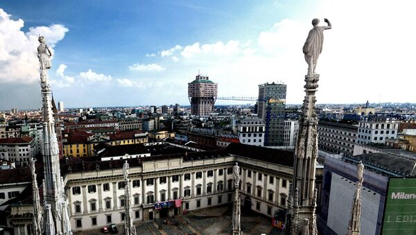 Milano, vista dal Duomo - Sputnik Italia