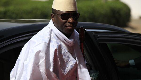 Yahya Jammeh - Sputnik Italia