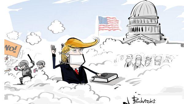 Il giuramento di Donald Trump - Sputnik Italia