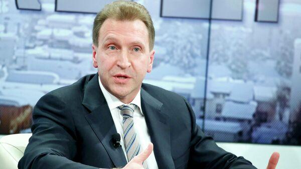 Il vicepremier russo Igor Shuvalov - Sputnik Italia