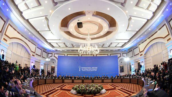 Colloqui di pace tra il governo siriano e l'opposizione siriana ad Astana, il 23 gennaio. - Sputnik Italia