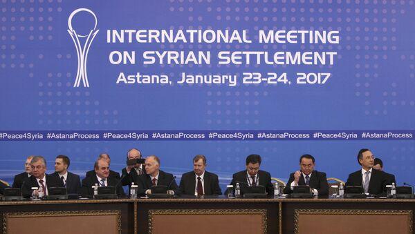 Partecipanti ai colloqui sulla Siria ad Astana - Sputnik Italia