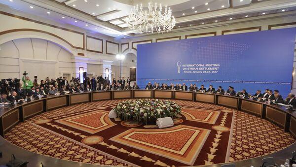 Colloqui sulla Siria ad Astana - Sputnik Italia