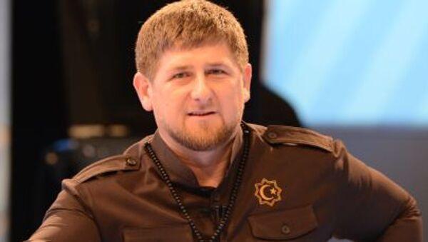 Глава Чеченской Республики Рамзан Кадыров на пресс-конференции - Sputnik Italia