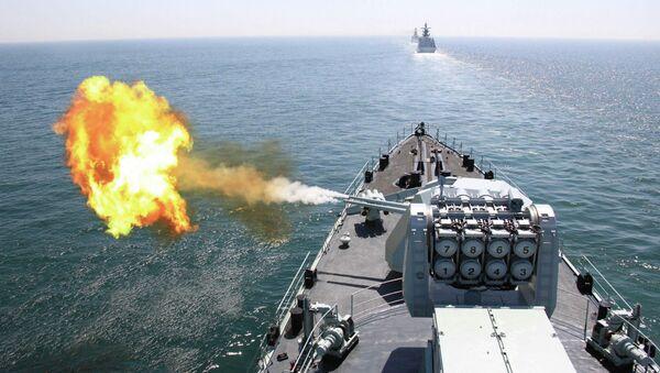 Esercitazioni navali di Russia e Cina nel Mediterraneo - Sputnik Italia