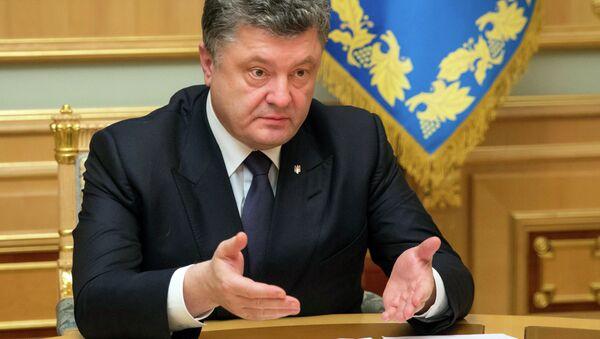 Petr Poroshenko - Sputnik Italia