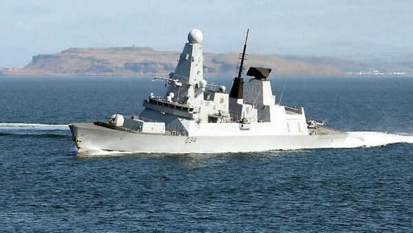 Royal Navy Type 45 destroyer HMS Diamond - Sputnik Italia