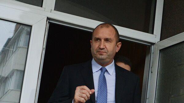 Il Presidente bulgaro Rumen Radev - Sputnik Italia
