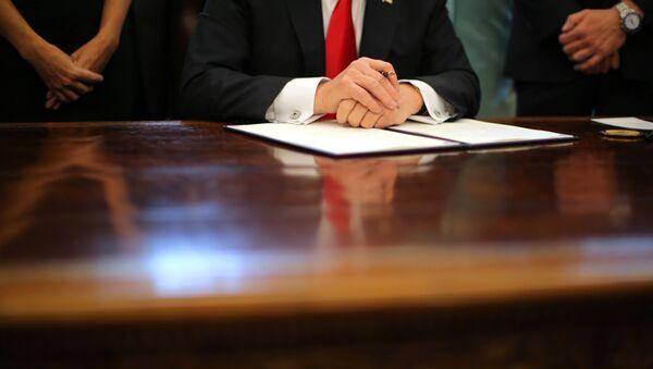 Il Presidente degli USA Donald Trump - Sputnik Italia