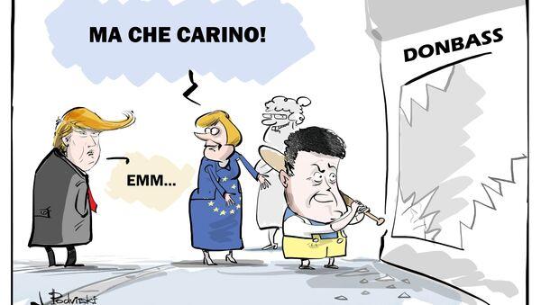 Chi provoca il conflitto in Donbass? - Sputnik Italia