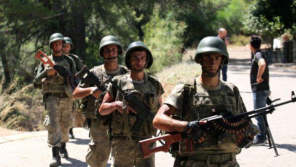 Soldati turchi (foto d'archivio) - Sputnik Italia