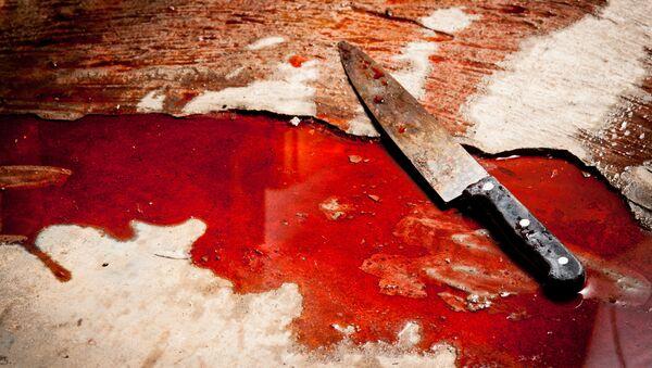 Нож в крови - Sputnik Italia