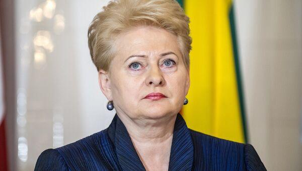 Dalia Grybauskaite - Sputnik Italia