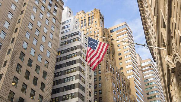 Уолл-стрит в Нью-Йорке - Sputnik Italia