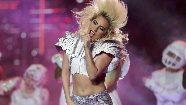 Lady Gaga al Super Bowl LI nel Texas. - Sputnik Italia