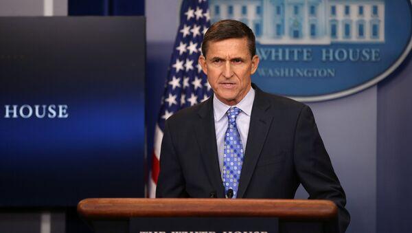 Michael Flynn, consigliere della Casa Bianca dimessosi per contatti con l'ambasciatore russo - Sputnik Italia