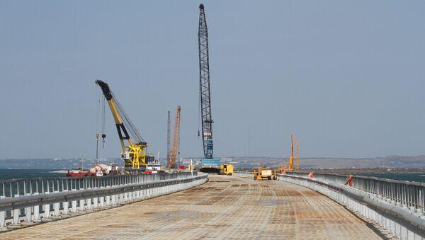 Ponte di Kerch tra Russia continentale e Crimea - Sputnik Italia