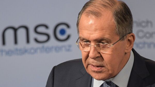 Russian Foreign Minister Sergey Lavrov at the 53rd Munich Security Conference - Sputnik Italia