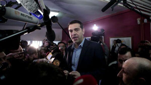Глава греческого правительства Алексис Ципрас - Sputnik Italia