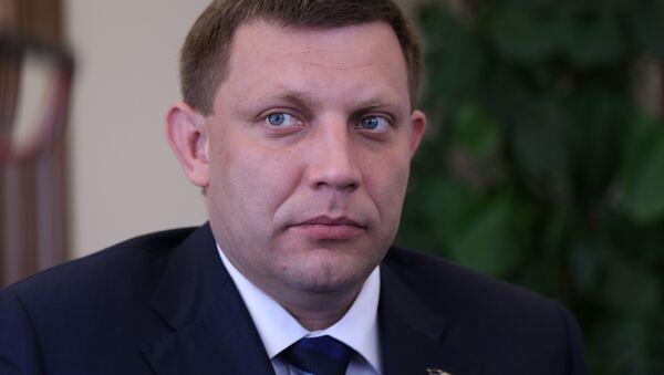 Zakharchenko, presidente dell'Autoproclamata repubblica di Donetsk - Sputnik Italia