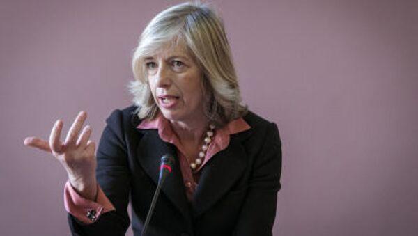 Министр образования, университетов и научных исследований Италии Стефания Джаннини - Sputnik Italia