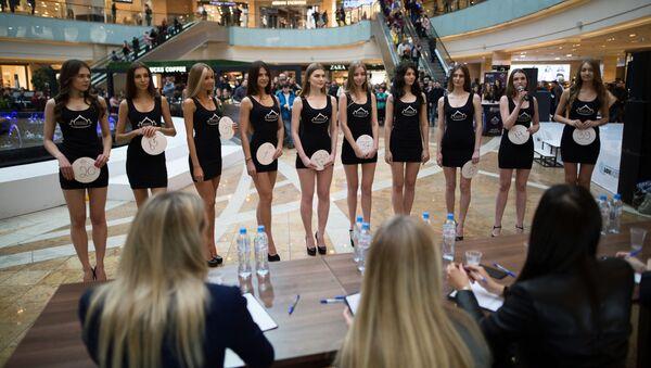 Il casting di miss Russia 2017 - Sputnik Italia