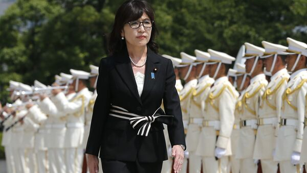 Министр обороны Японии Томоми Инада - Sputnik Italia