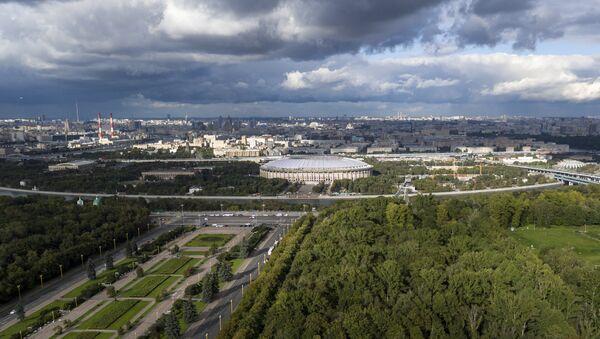Lo stadio Luzhniki di Mosca, già Lenin, che ospiterà la finalissima dei Mondiali - Sputnik Italia