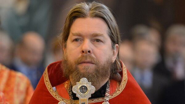 l'archimandrita Tichon - Sputnik Italia