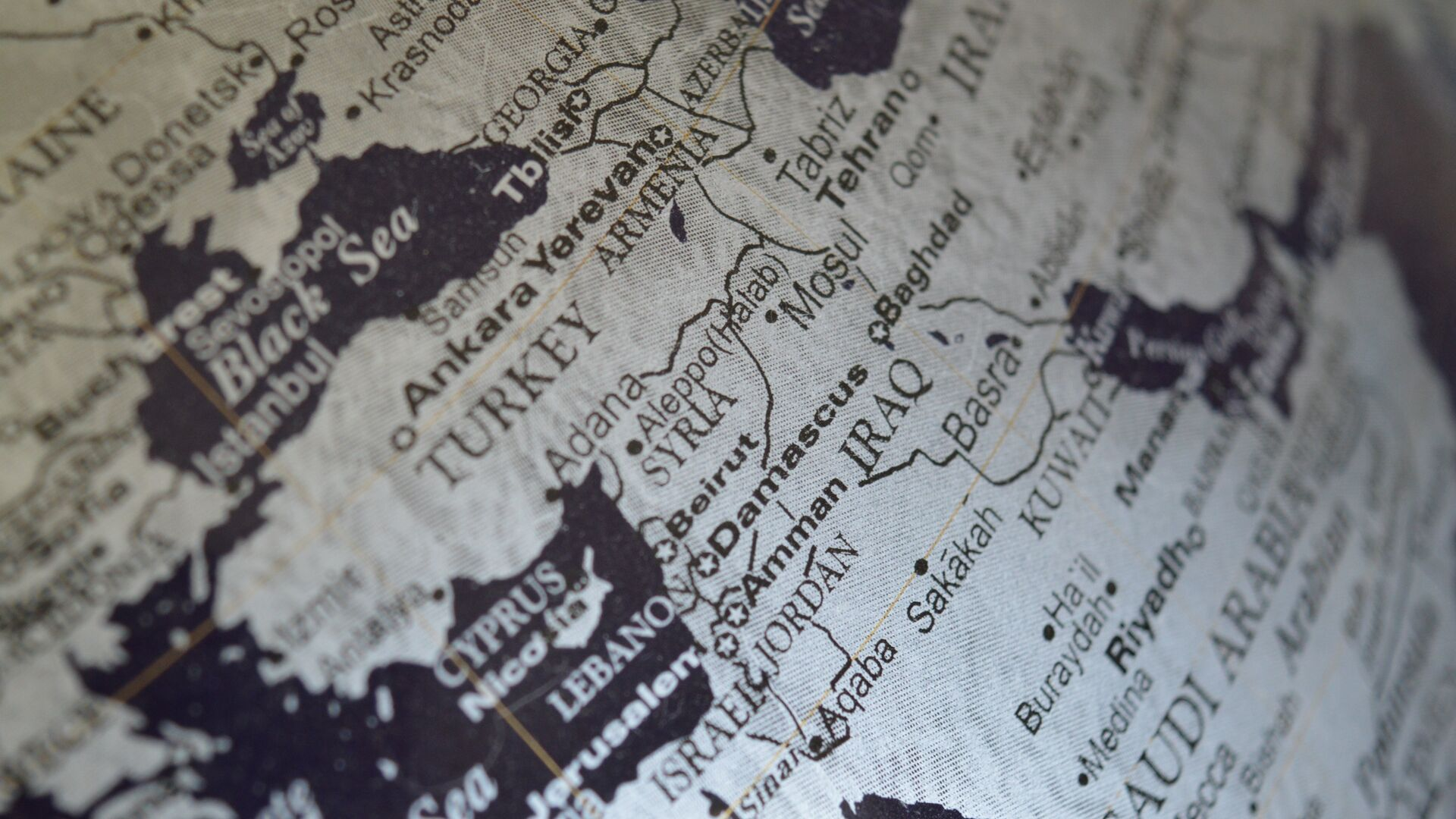 La mappa del Medio Oriente - Sputnik Italia, 1920, 28.02.2021