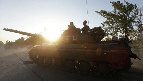 Militari dell'esercito ucraino nei pressi di Mariupol - Sputnik Italia