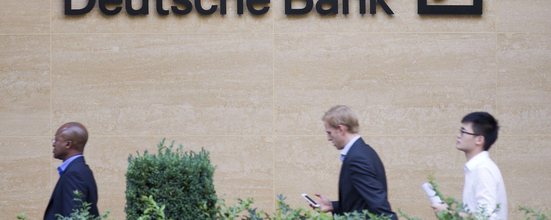 L'edificio del Deutsche Bank - Sputnik Italia, 1920, 19.06.2020