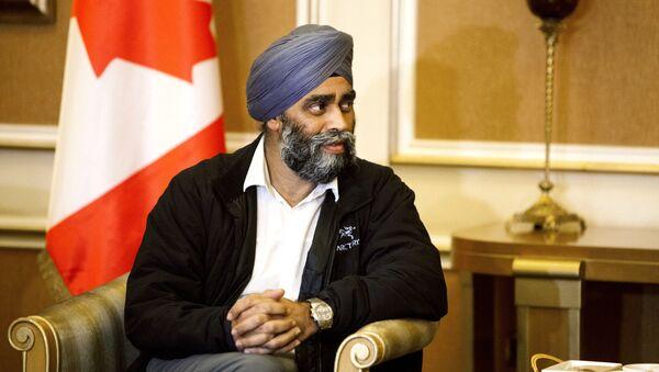 Harjit Sajjan, ministro delal Difesa del Canada - Sputnik Italia