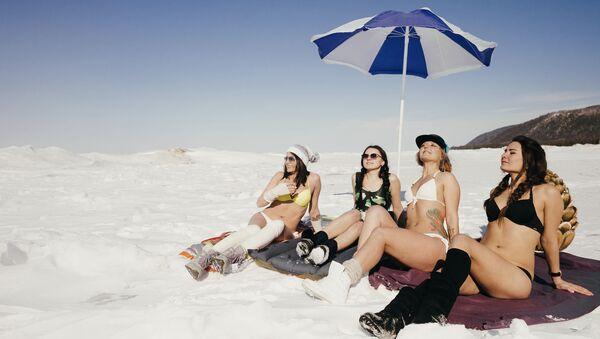 Le spiagge bianche del Bajkal. - Sputnik Italia