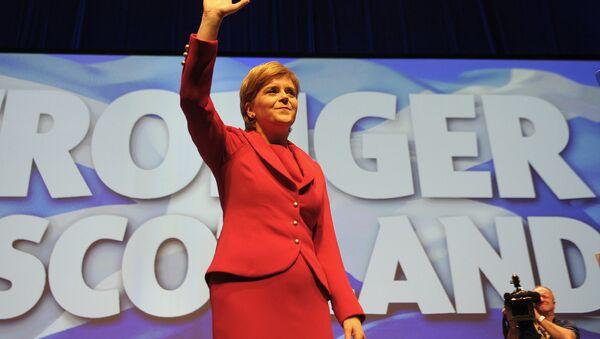 Il primo ministro scozzese Nicola Sturgeon - Sputnik Italia