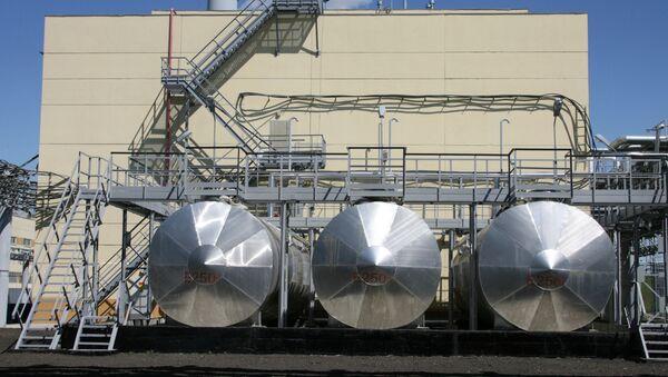 Una centrale per la distruzione di armi chimiche nella città di Shchuchye, Siberia; Russia - Sputnik Italia