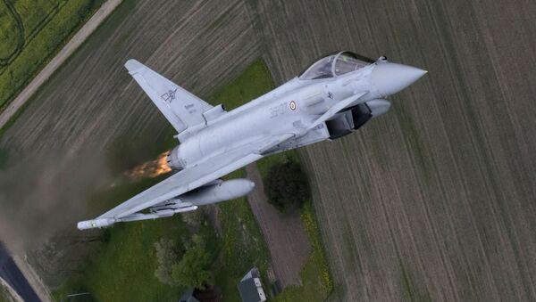 Caccia Eurofighter Typhoon - Sputnik Italia