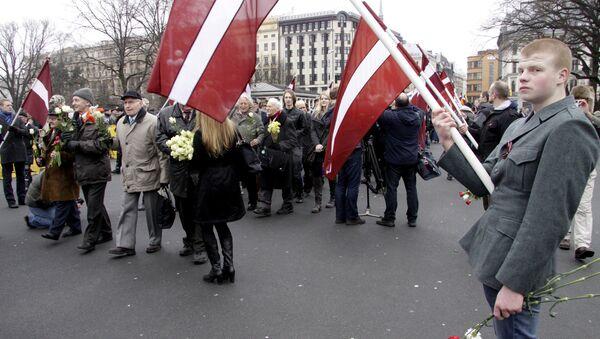 Marcia dei veterani della Waffen-SS a Riga. - Sputnik Italia