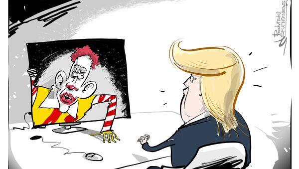 McDonald's contro Trump - Sputnik Italia