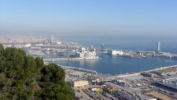 Porto di Barcelona - Sputnik Italia