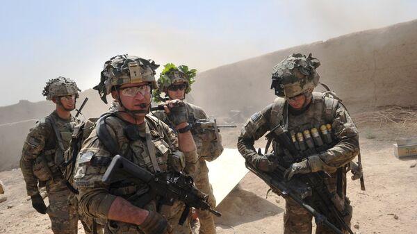 Des militaires US en Afghanistan - Sputnik Italia