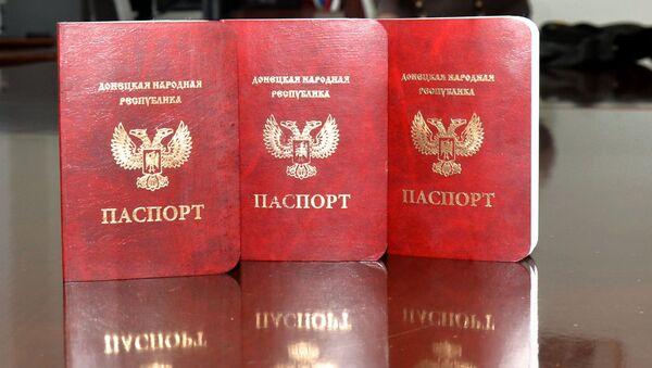 Паспорта граждан Донецкой Народной Республики - Sputnik Italia