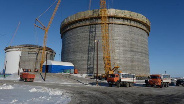 Impianto GNL di Yamal in costruzione - Sputnik Italia