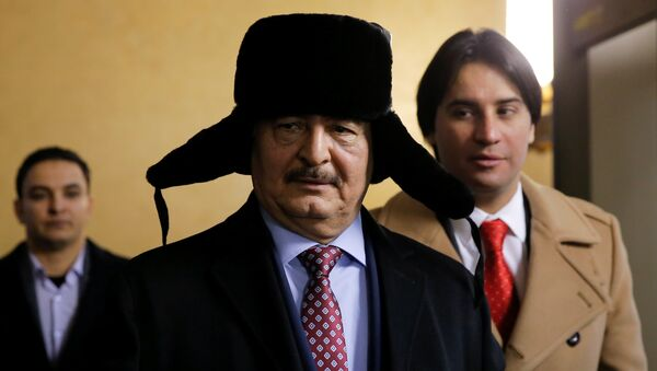 Il general Khalifa Haftar - Sputnik Italia