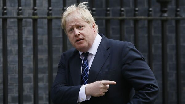 Boris Johnson, the Mayor of London arrives for a meeting at Downing Street in London, Tuesday, March 22, 2016 - Sputnik Italia