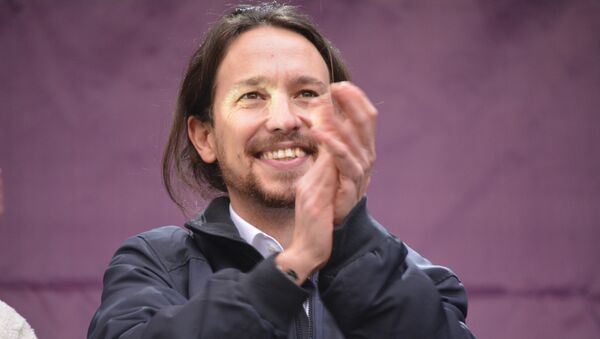 Pablo Iglesias,  Il Secretario Generale del partito Podemos - Sputnik Italia