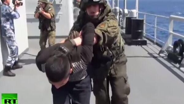 Esercitazione congiunta antiterrorismo Russia - Cina nel Mediterraneo - Sputnik Italia