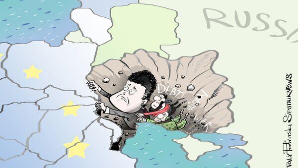 Poroshenko, un anno da presidente - Sputnik Italia