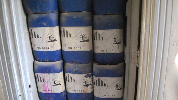 Sostanze chimiche trovate in una fabbrica di armi ad Aleppo - Sputnik Italia