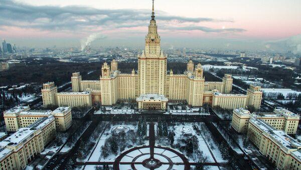 L'Università statale Lomonosov di Mosca (MGU) - Sputnik Italia